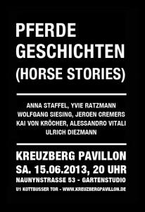 Ausstellung 15 06 2013 PFERDEGESCHICHTEN