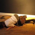Performance: Anna Staffel - das sträubende Pferd - Foto: Clemens Kuhnert