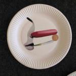"""""""Pflaster 5"""" (Nase) aus der Serie """"Pflaster / Installation Tatorte und Wundversorgungen 2014"""