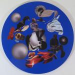 Anna Staffel - Und die Nacht - Clemens Kuhnert 80 cm 2015