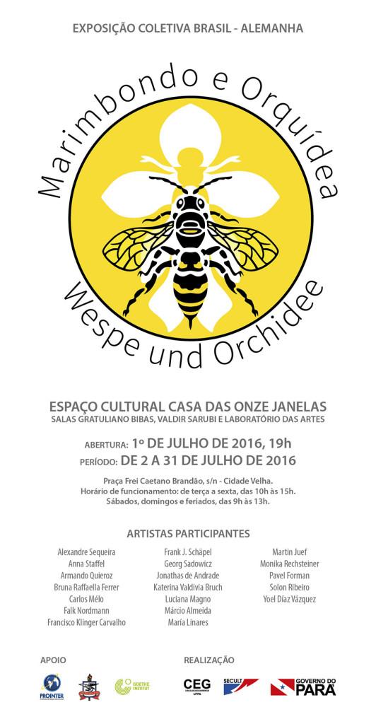 Convite virtual - Marimbondo e Orqui dea