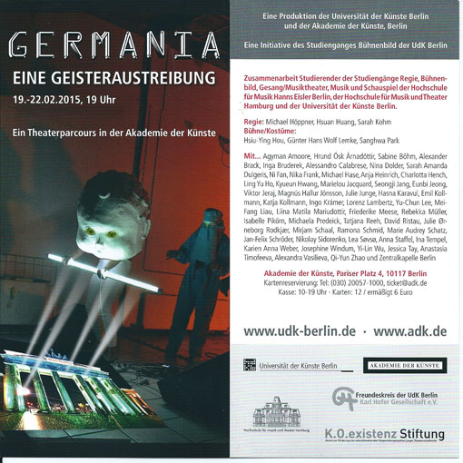 Flyer GERMANIA -