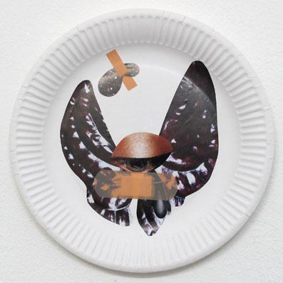 Pflaster 4 (Schwarzer Schmetterling)