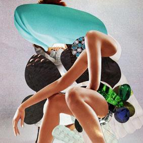 """""""Relax""""  Foto aus der Serie """"Zufälligkeitscollage"""" 2016"""